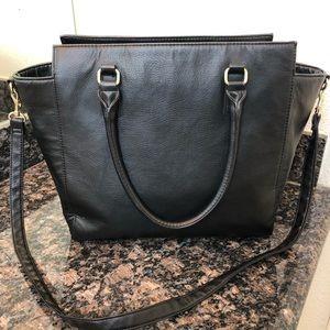 H&M Black Faux Leather Handbag